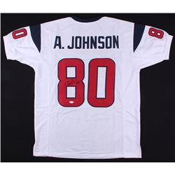 Andre Johnson Signed Houston Texans Jersey (JSA COA)