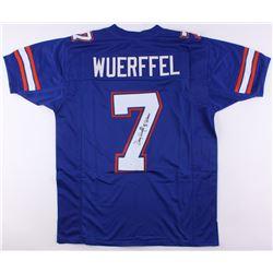 "Danny Wuerffel Signed Florida Gators Jersey Inscribed ""96 Heisman"" (JSA COA)"