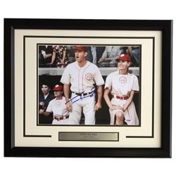 "Tom Hanks Signed ""A League Of Their Own"" 16x20 Custom Framed Photo Display (PSA COA)"