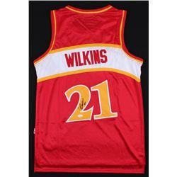 Dominique Wilkins Signed Atlanta Hawks Jersey (JSA COA)