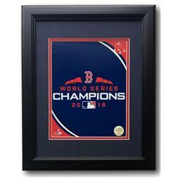 Boston Red Sox 2018 World Series Champions 11x14 Custom Framed Photo Display