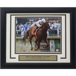 Mike Smith Signed 11x14 Custom Framed Photo Display (SI COA)