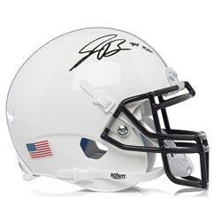 Saquon Barkley Signed Penn State Nittany Lions Mini Helmet (Panini COA)