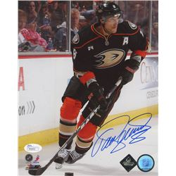 Teemu Selanne Signed Anaheim Ducks 8x10 Photo (JSA COA)