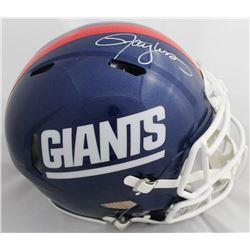 Lawrence Taylor Signed Giants Full-Size Authentic On-Field Speed Helmet (JSA COA)