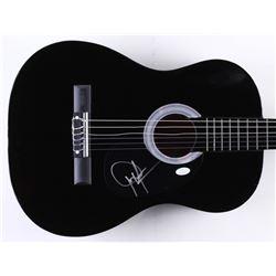 "Dwight Yoakam Signed 37"" Acoustic Guitar (JSA COA)"