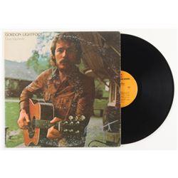 "Gordon Lightfoot Signed ""Don Quixote"" Vinyl Record Album (JSA COA)"
