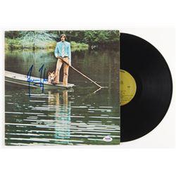 "James Taylor Signed ""One Man Dog"" Vinyl Record Album (PSA COA)"
