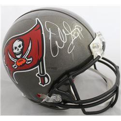 Warren Sapp Signed Tampa Bay Buccaneers Full-Size Authentic On-Field Helmet (Beckett COA)