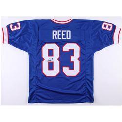 Andre Reed Signed Buffalo Bills Jersey (JSA COA)