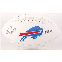 "Andre Reed Signed Buffalo Bills Logo Football Inscribed ""HOF 14"" (SGC COA)"