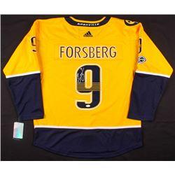 Filip Forsberg Signed Nashville Predators Jersey (JSA COA)