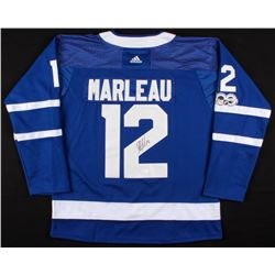 Patrick Marleau Signed Toronto Maple Leafs Jersey (JSA COA)