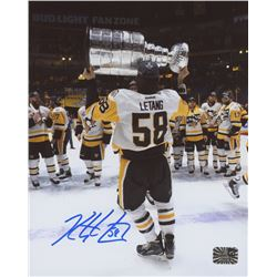 Kris Letang Signed Boston Bruins 8x10 Photo (Letang Hologram)