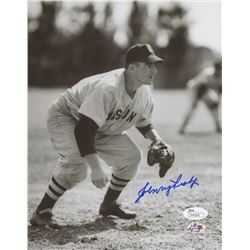Johnny Pesky Signed Boston Red Sox 8x10 Photo (JSA COA  Sure Shot Promotions Hologram)
