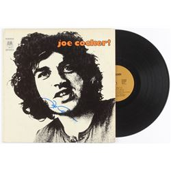 "Joe Cocker Signed ""Joe Cocker!"" Vinyl Record Album (JSA COA)"