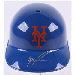 """Dwight """"Doc"""" Gooden Signed New York Mets Full-Size Replica Batting Helmet (JSA COA)"""