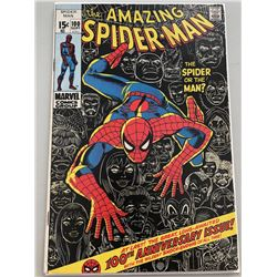 """1971 """"The Amazing Spider-Man"""" Issue #100 Marvel Comic Book"""