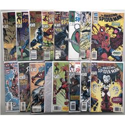 "Lot of (30) 1985-98 Marvel ""Amazing Spider-Man"" 1st Series Comic Books"
