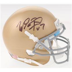 Will Fuller Signed Notre Dame Fighting Irish Mini Helmet (JSA COA)