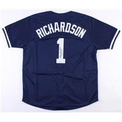 "Bobby Richardson Signed New York Yankees Jersey Inscribed ""60 WS MVP"" (JSA COA)"