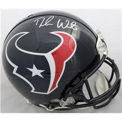 Deshaun Watson Signed Houston Texans Full-Size Authentic On-Field Helmet (Beckett COA)