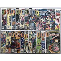 """Lot of (22) 1978-81 Marvel """"Spectacular Spider-Man"""" 1st Series Comic Books"""