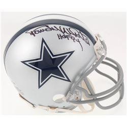 "Randy White Signed Dallas Cowboys Mini Helmet Inscribed ""HOF 94"" (Beckett COA)"