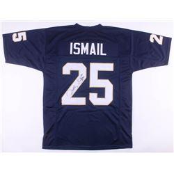 "Raghib ""Rocket"" Ismail Signed Notre Dame Fighting Irish Jersey (JSA COA)"