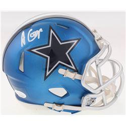 Amari Cooper Signed Dallas Cowboys Blaze Speed Mini Helmet (JSA COA)