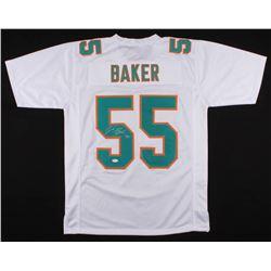 Jerome Baker Signed Miami Dolphins Jersey (JSA COA)