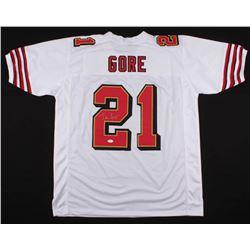 Frank Gore Signed San Francisco 49ers Jersey (JSA COA)