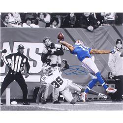 Odell Beckham Jr. Signed New York Giants 16x20 Photo (JSA COA)
