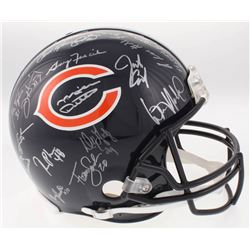 1985 Chicago Bears Superbowl XX Champions Full-Size Authentic On-Field Helmet Team-Signed by (30) Wi
