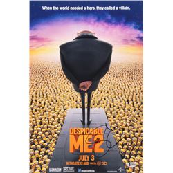 Steve Carell Signed Despicable Me 12x18 Movie Poster Photo (Beckett COA)