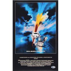 Richard Donner Signed Superman 11x17 Movie Poster Photo (Beckett COA)