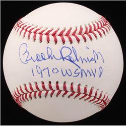 "Brooks Robinson Signed OML Baseball Inscribed ""1970 WS MVP"" (JSA COA)"