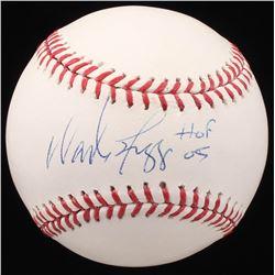 "Wade Boggs Signed OML Baseball Inscribed ""HOF 05"" (JSA COA)"