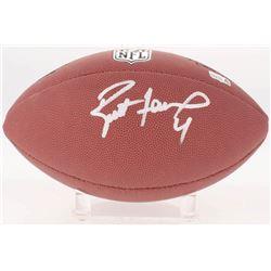 Brett Favre Signed NFL Football (Schwartz COA  Radtke Hologram)
