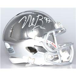 Nick Bosa Signed Ohio State Buckeyes Speed Mini-Helmet (JSA COA)