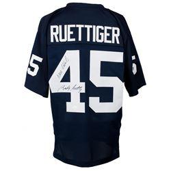 "Rudy Ruettiger Signed Notre Dame Fighting Irish Jersey Inscribed ""Never Quit"" (JSA COA)"