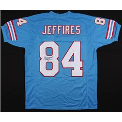 Haywood Jeffires Signed Houston Oilers Jersey (JSA COA)