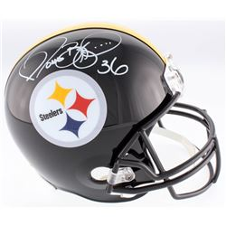 Jerome Bettis Signed Pittsburgh Steelers Full-Size Helmet (JSA COA)