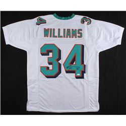 Ricky Williams Signed Miami Dolphins Jersey (JSA COA)