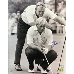 Arnold Palmer  Jack Nicklaus Signed 16x20 Photo (Fanatics)