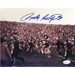 Rudy Ruettiger Signed Notre Dame Fighting Irish 8x10 Photo (JSA COA)