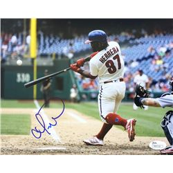 Odubel Herrera Signed Philadelphia Phillies 8x10 Photo (JSA COA)
