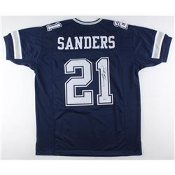 Deion Sanders Signed Dallas Cowboys Jersey (Beckett COA)