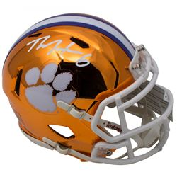 DeAndre Hopkins Signed Clemson Tigers Chrome Speed Mini-Helmet (JSA COA)