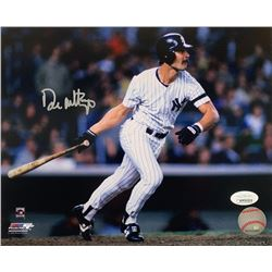 Don Mattingly Signed New York Yankees 8x10 Photo (JSA COA)